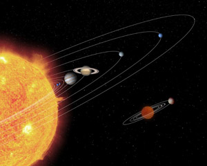 When do students learn about the solar system