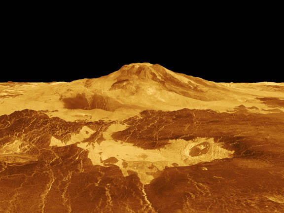 venus volcanoes nasa - photo #3