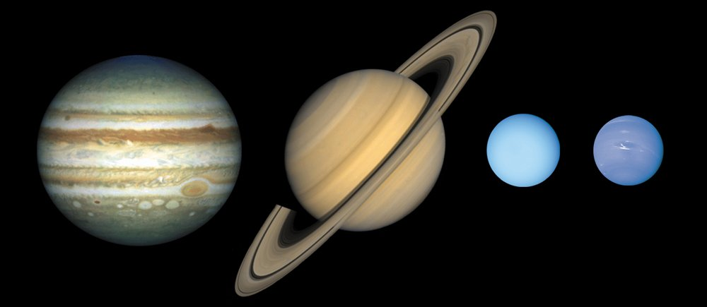outer planets and their characteristic - photo #28