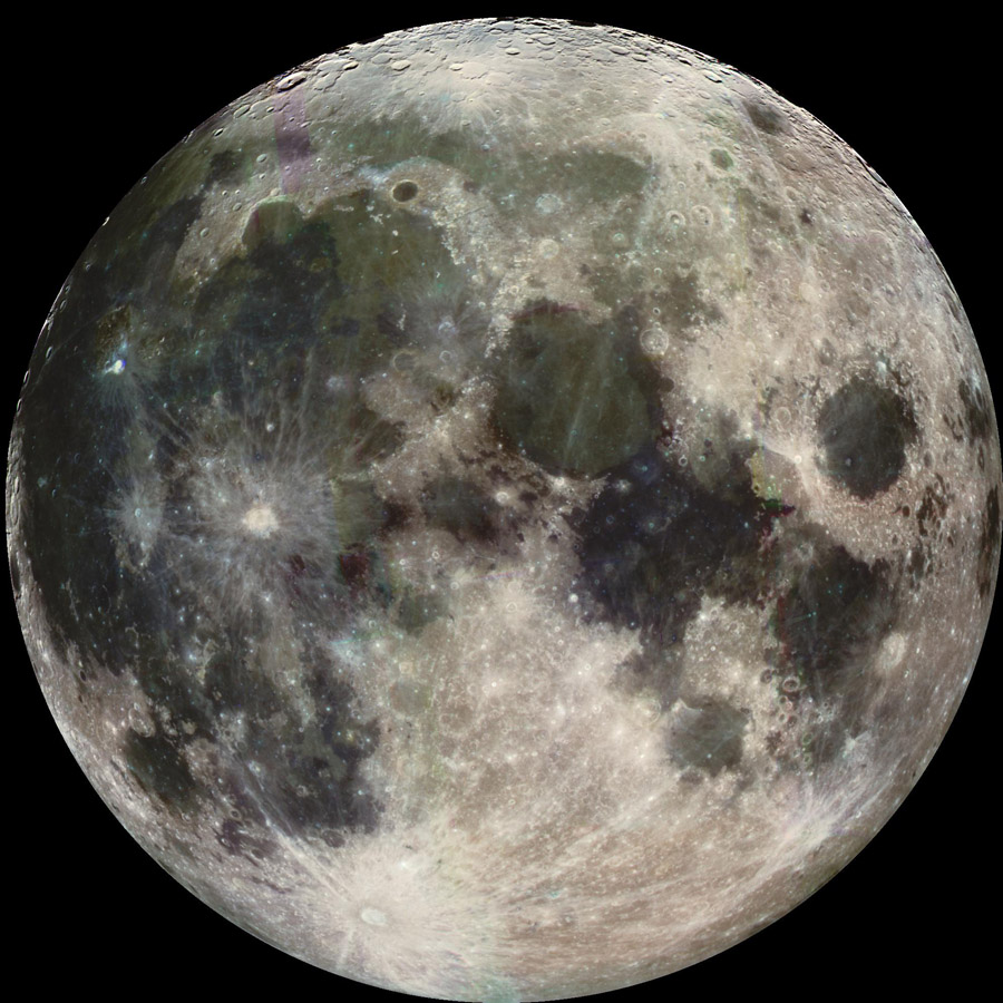 The Moon is Earth?s lone natural satellite.