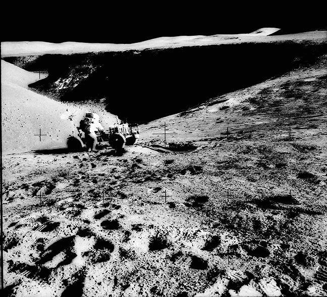 what on the moon surface